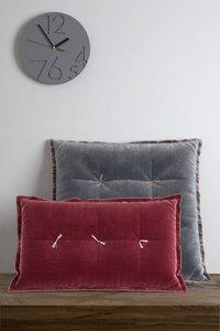 3D velvet cushions