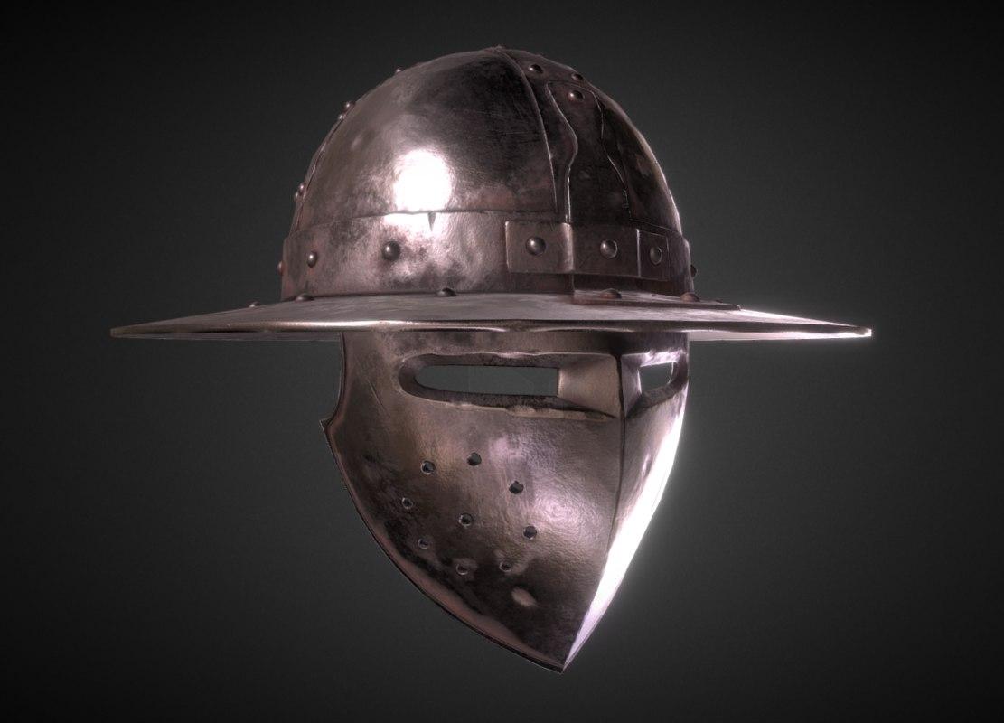 3D helm chapel model