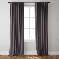 3D model cotton canvas curtains