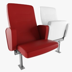 chair bluecube luxura model