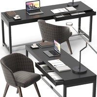 3D minotti fulton desk creed