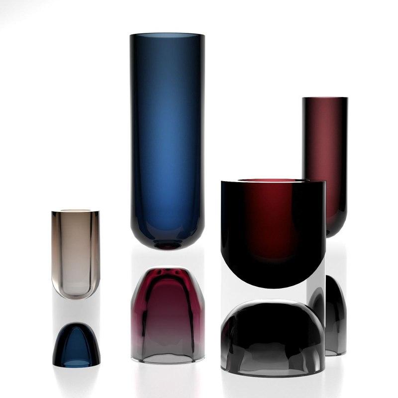 tapio wirkkala vases 3D
