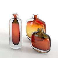 3D arcade mineralia amber vases