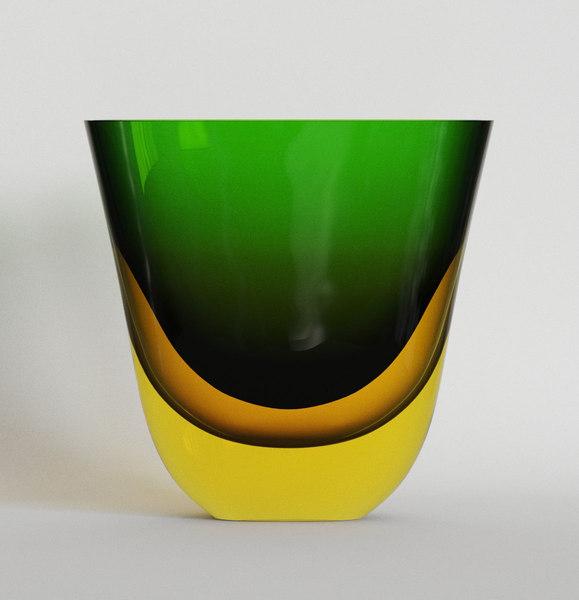 flavio poli vase 3D