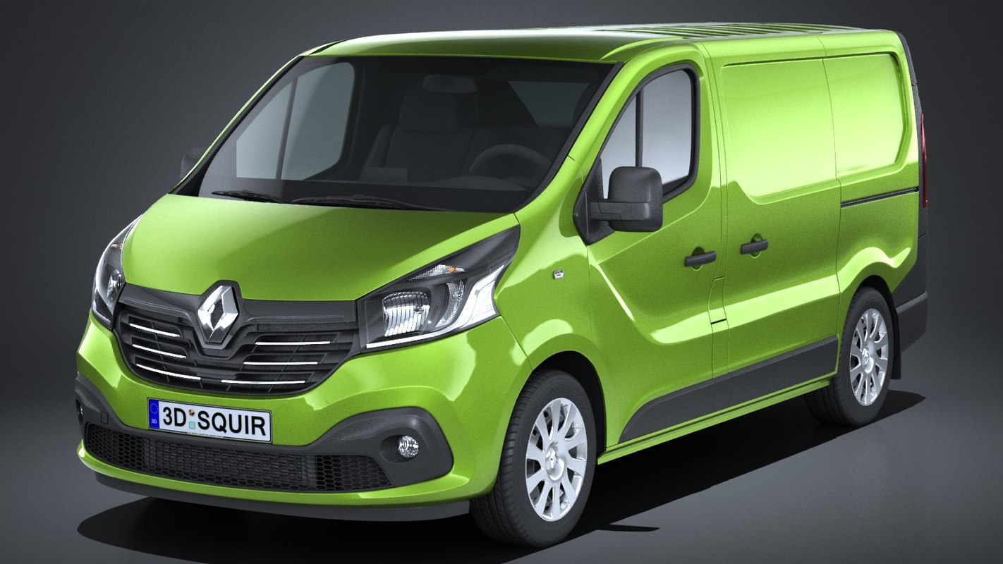 renault trafic cargo 3D