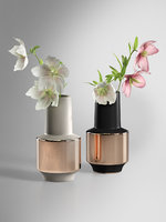 WEST ELM Metallic Banded Vases