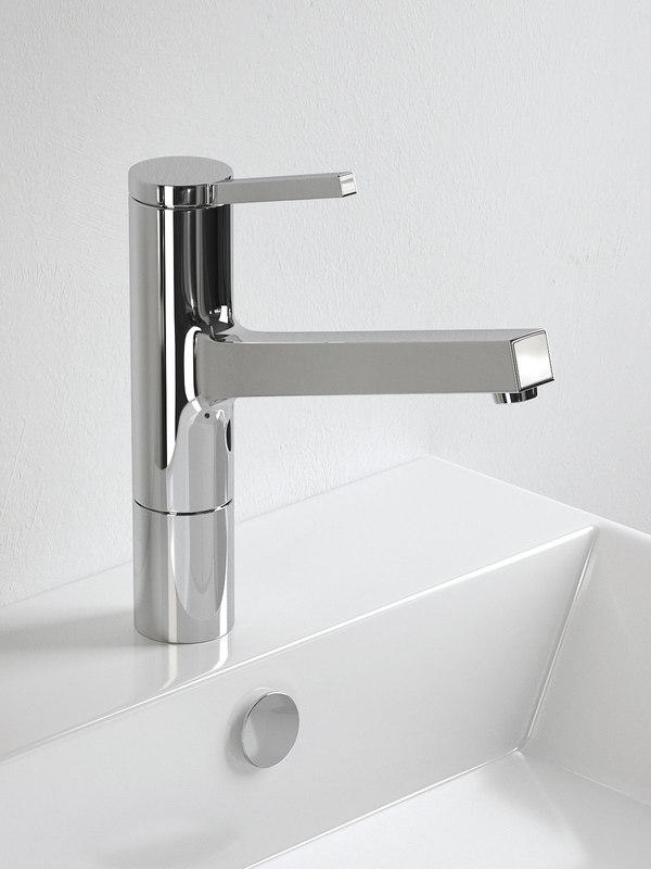 3D kwc ava washbasin mixer