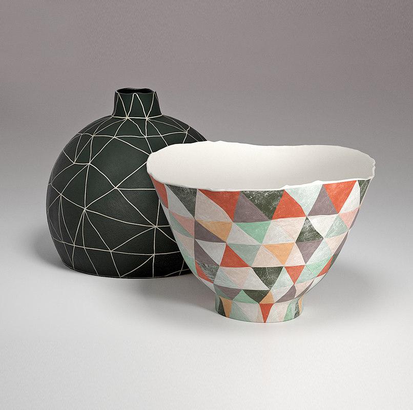 tania rollond vase bowl 3D