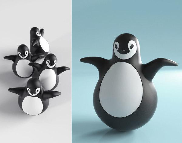 3D magis pingy penguin