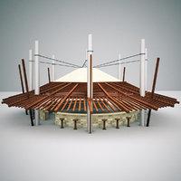 outdoor bar model
