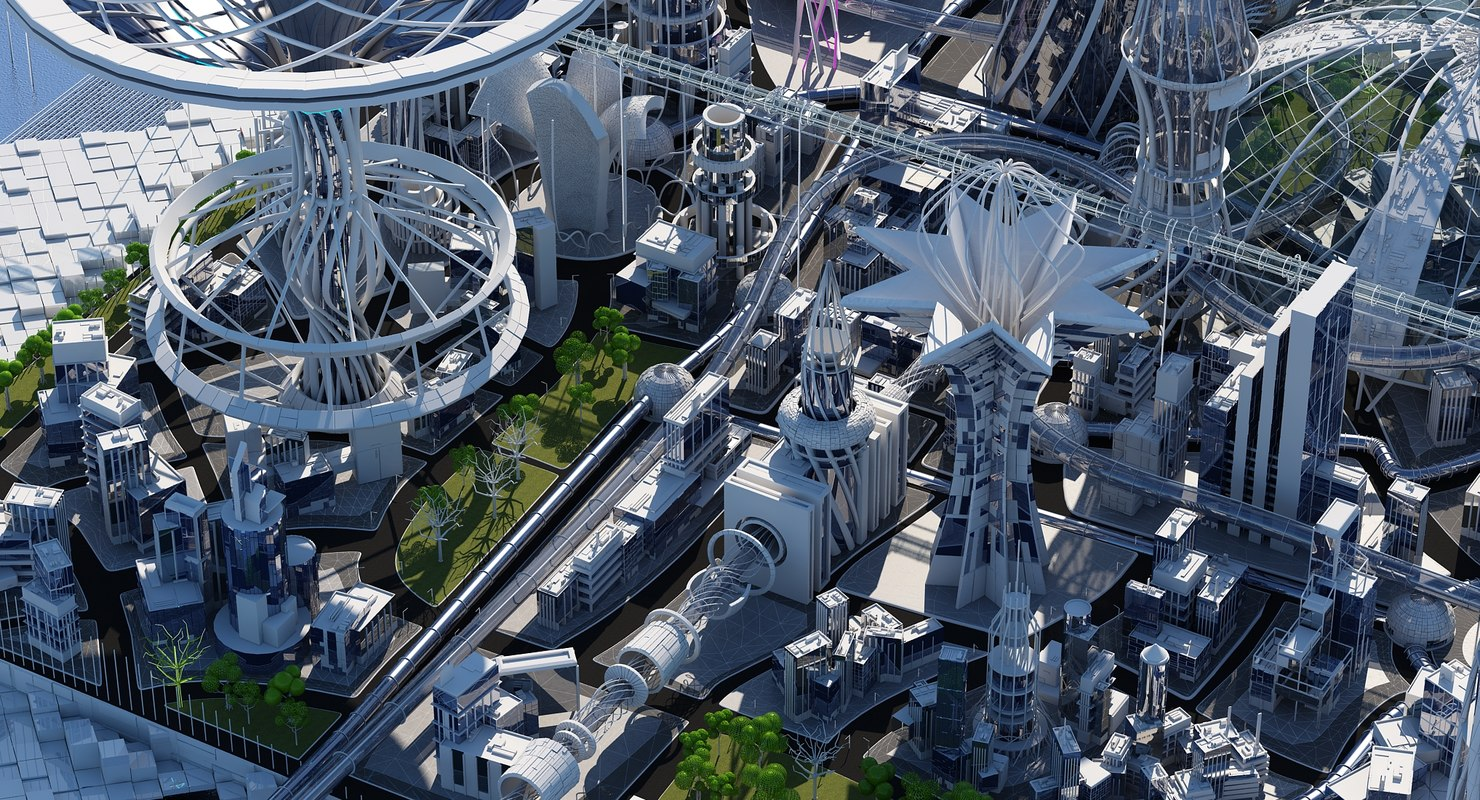 City 3D Models for Download | TurboSquid