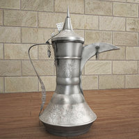 3D old arabic tepot