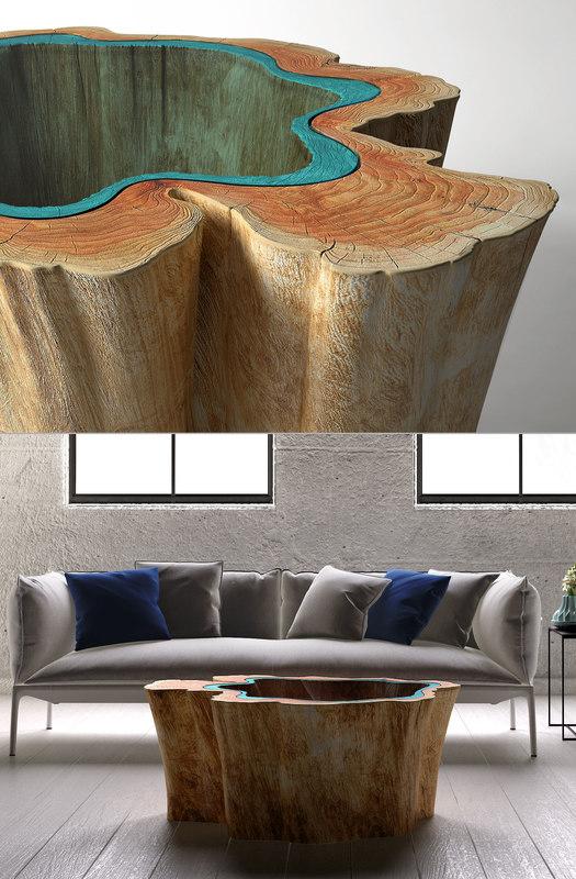 3D greg klassen lake table model