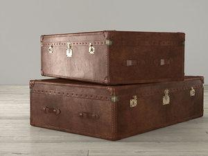 rh mayfair steamer trunk model