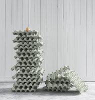 egg tray set 3D model