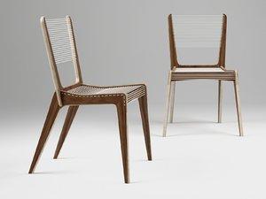 3D avenue road cord chair model