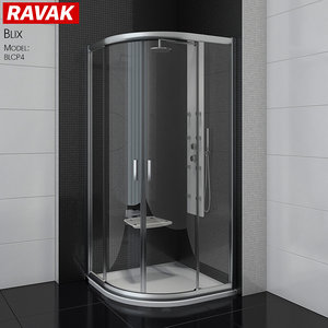 shower room ravak blix 3D model