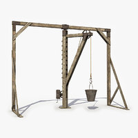 Old Wooden Crane 8
