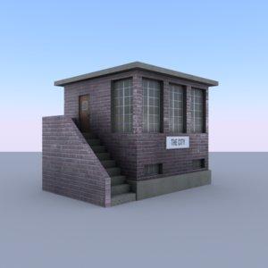 3D building railway