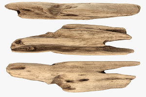 3D plank fragment model