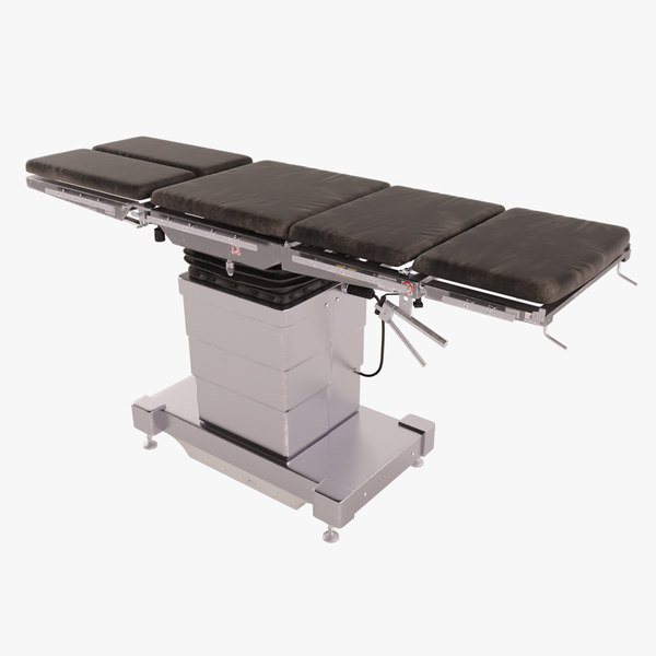 3D operating table