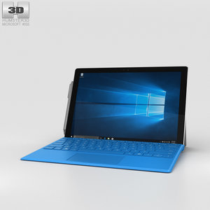 3D microsoft surface 4 model