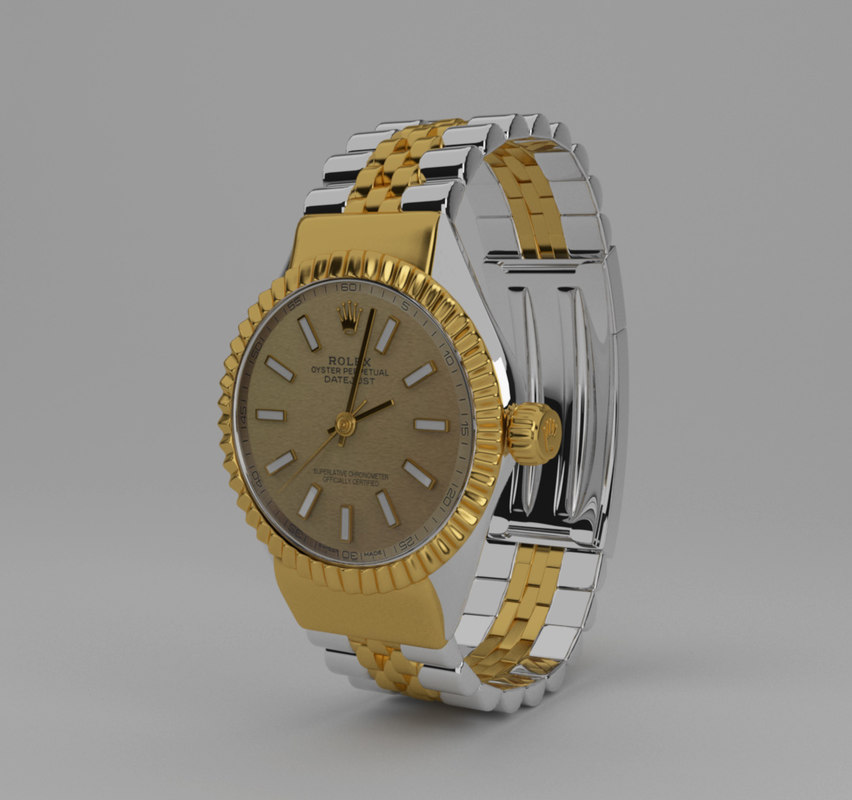 realistic watch 3D