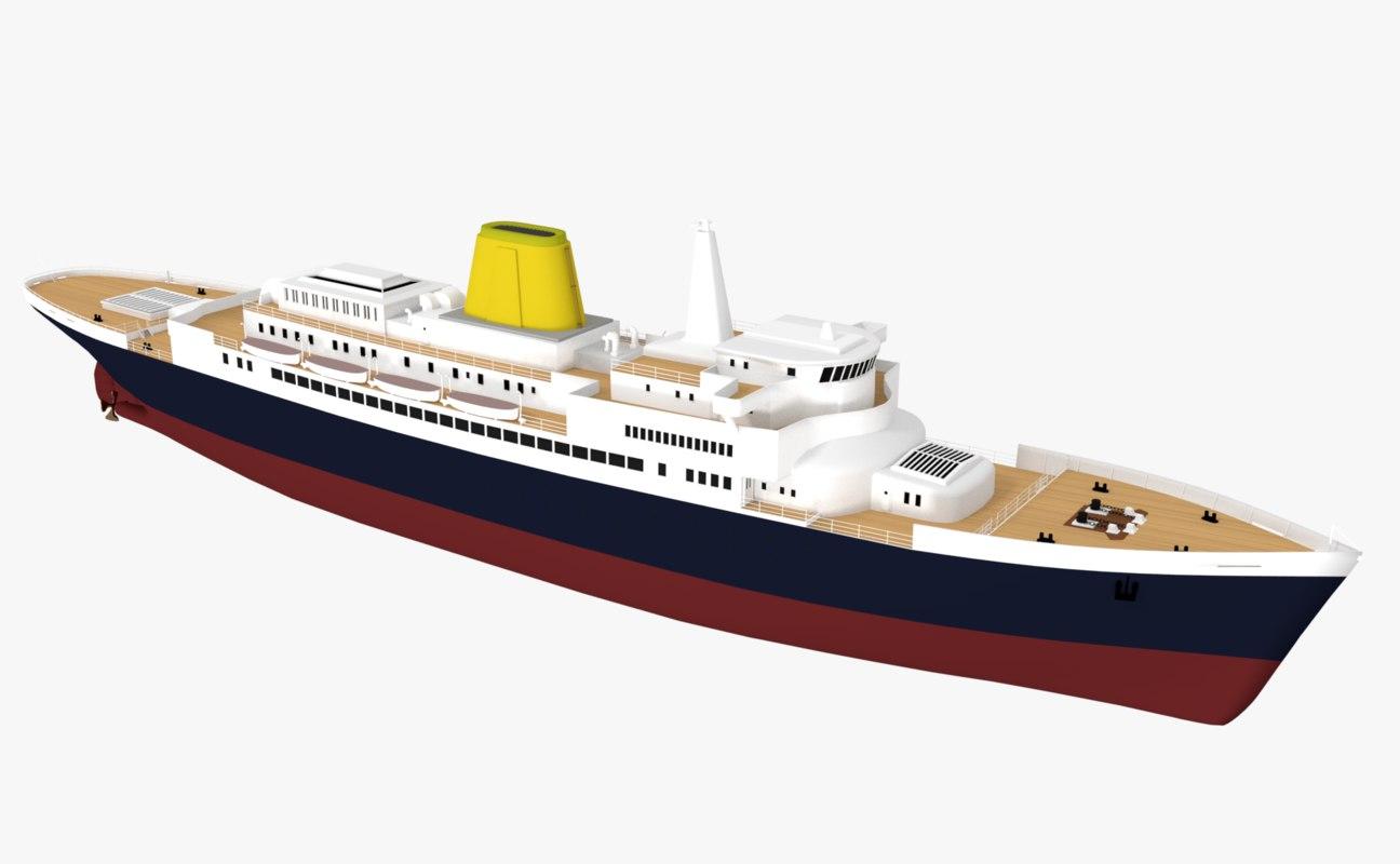 original ship model