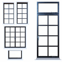 3D steel windows
