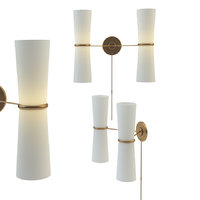 3D clarkson double sconce model