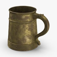 3D model old-beer-mug