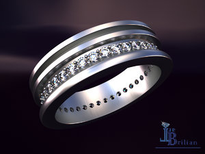 strict ring 3D model