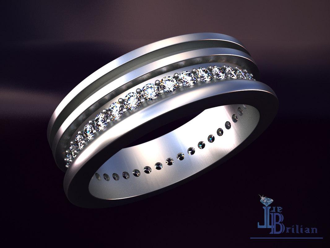 strict ring 3D model