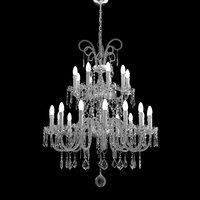 3D classical chandelier