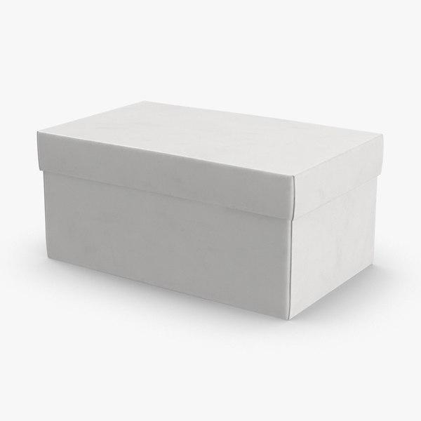 3D model shoe-boxes---white