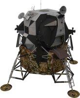 appolo lunar module 3D model