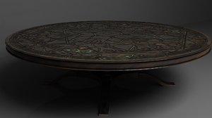 elven table 3D model