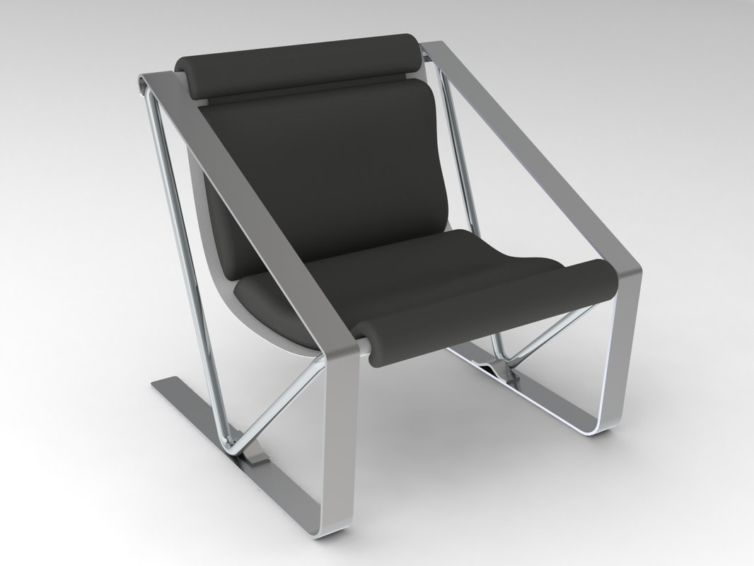 3D model chair solidworks 2017