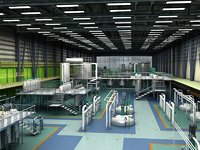 pharmaceutical factory 3D