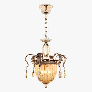 3D chandelier md 89350-3 osgona model