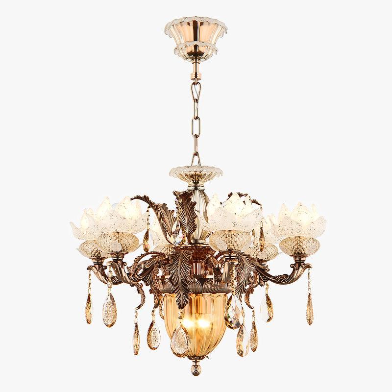 chandelier md 89350-6 2 3D model
