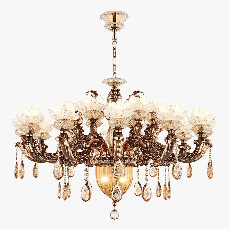 chandelier md 89350-12 6 3D model