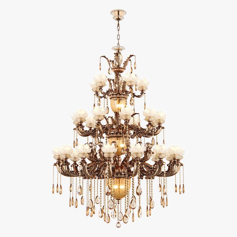 3D chandelier md 89350-37 osgona model