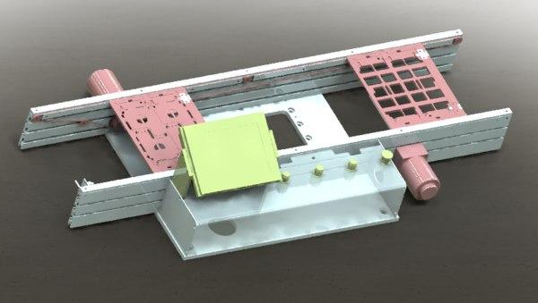 conveyor belt 3D model