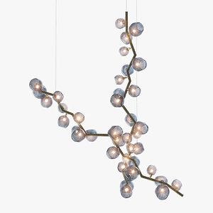 gianfranco ferre viper chandelier 3D model