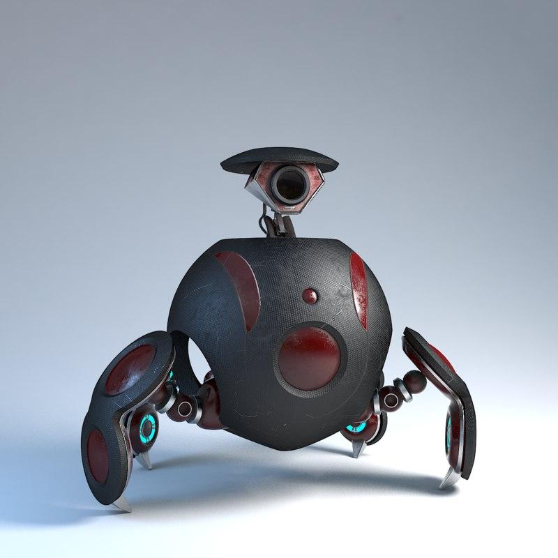 Robot Adventurer tex