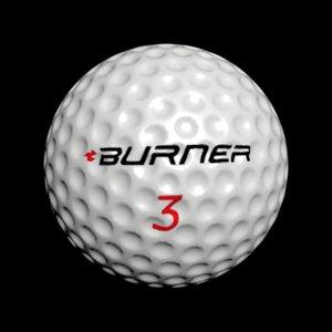 golfball ball 3D