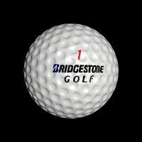 3D golfball ball model