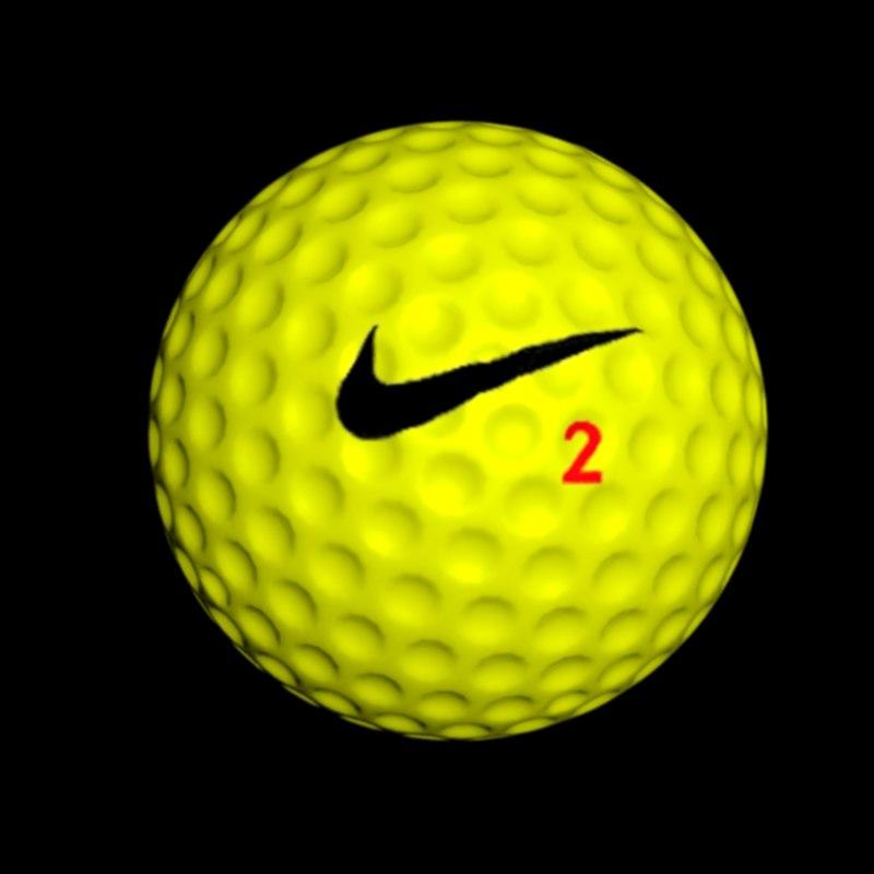 golfball ball 3D model