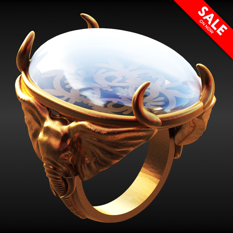 3D elephant ring